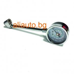 Хромиран метален манометър