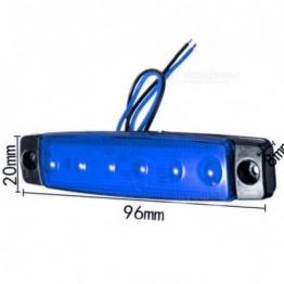 LED габарит за камион - 6 диода