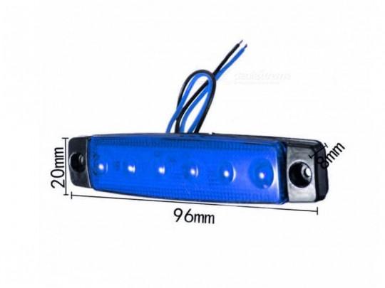 LED габарит за камион – 6 диода