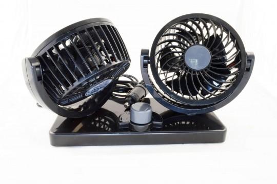 Двоен вентилатор за кола