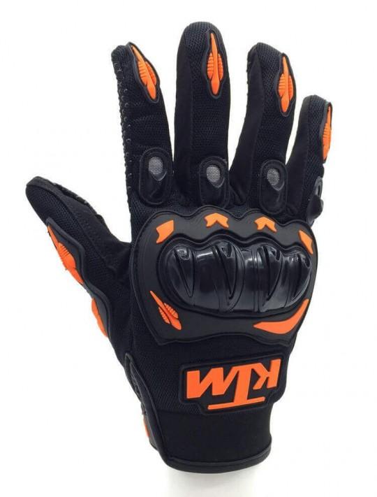 Мото ръкавици с логото на KTM