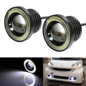 LED халогени с ангелски очи - 89 mm