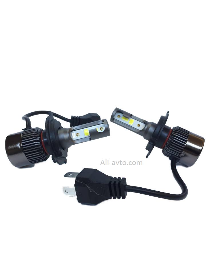 LED диодни крушки за фарове – H4