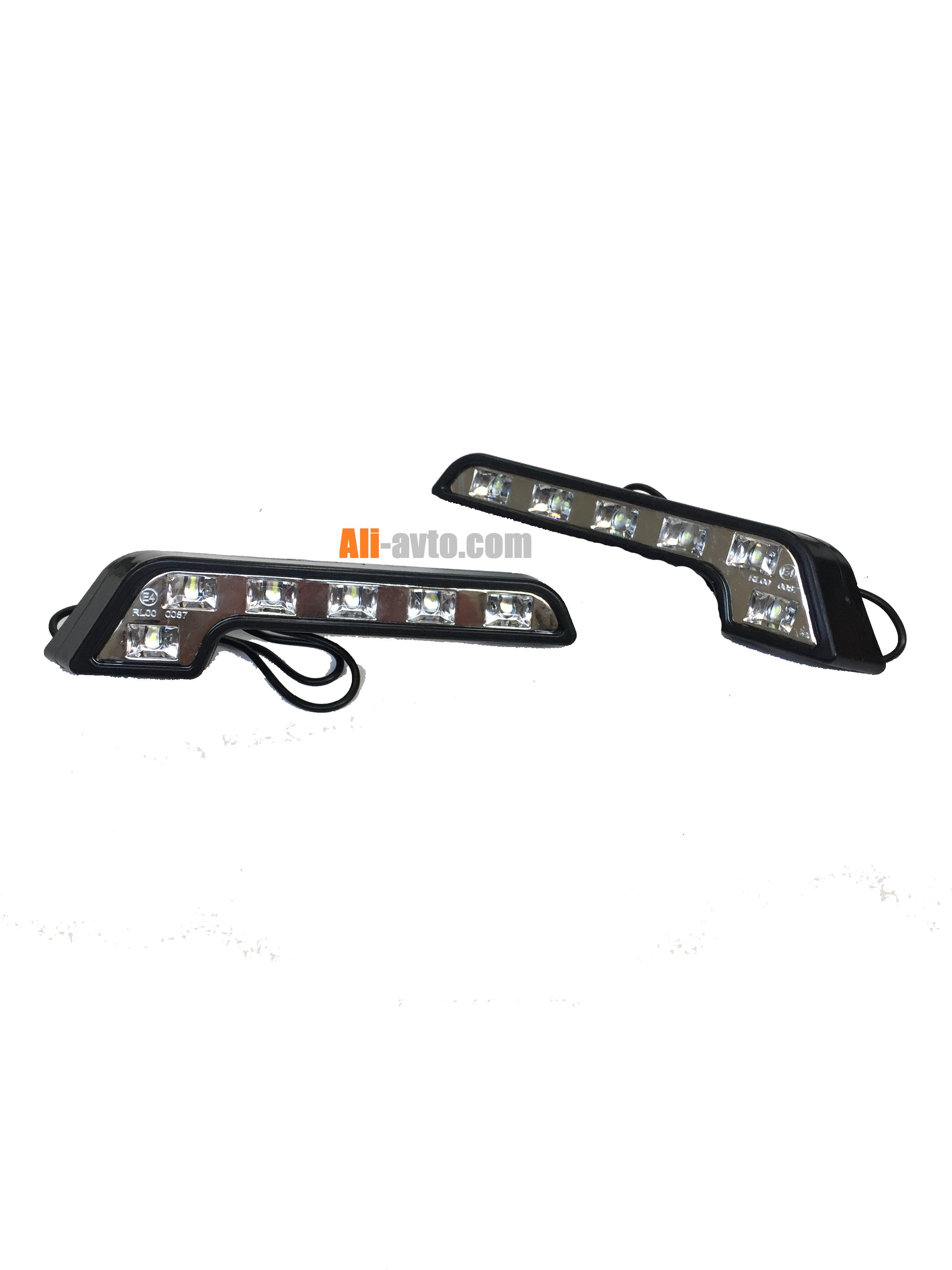 LED дневни светлини с 6 диода