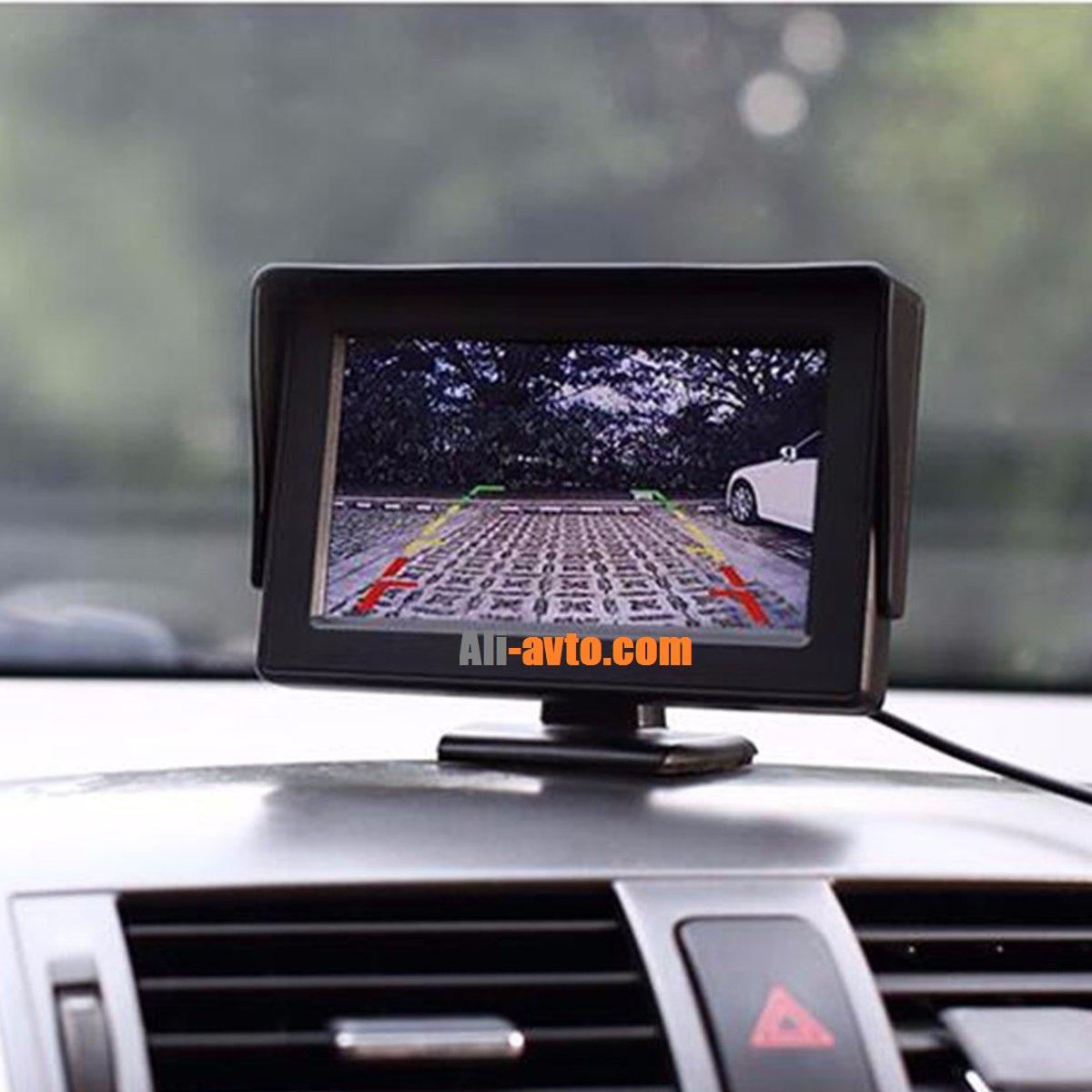 Дисплей за камера за задно виждане с 4.3 TFT със стойка