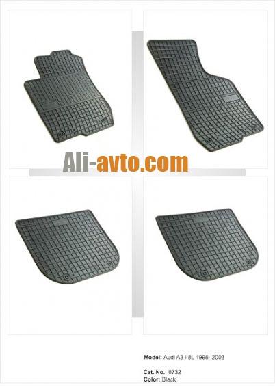 Гумени стелки за Audi А3 8Л (1996-2003)