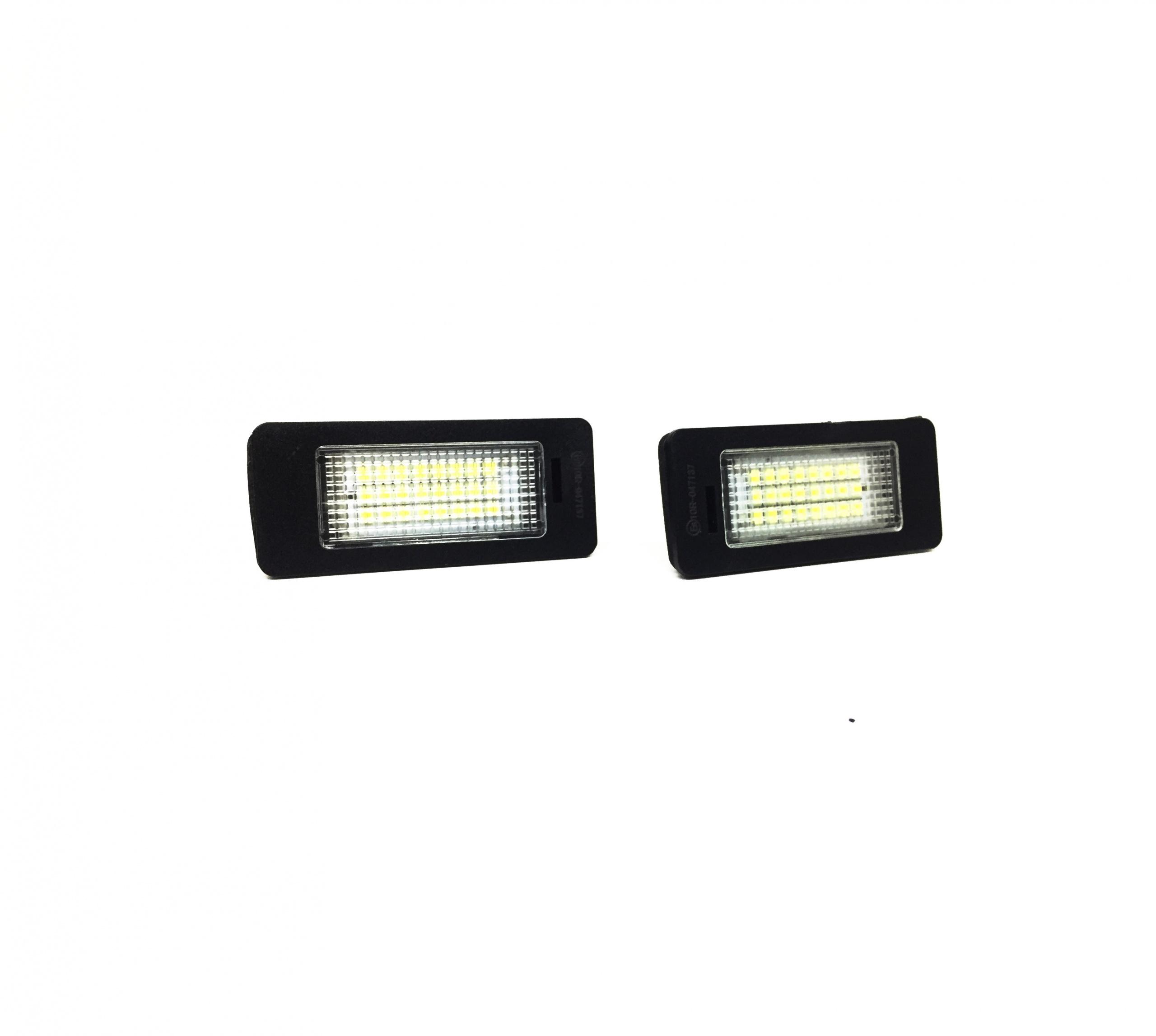 LED плафони за заден номер за BMW