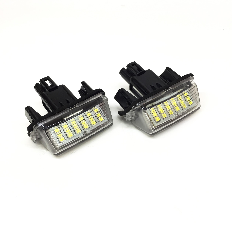 LED плафони за заден номер за Toyota – Модел 2