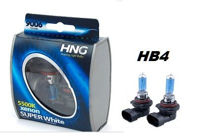 Крушки HNG/ НВ4 9006/55W с ксенонов ефект