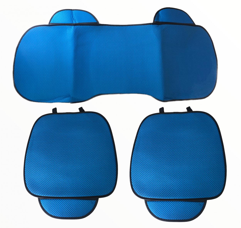 Тапицерия за Седалки на Автомобил 3в1- – Син