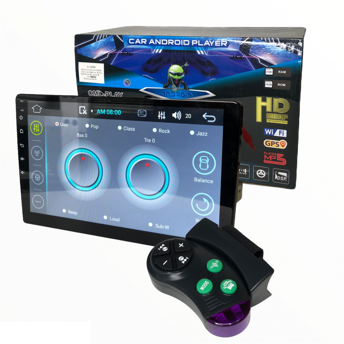 Мултимедия MP5 Android , GPS , 10.1″ инча