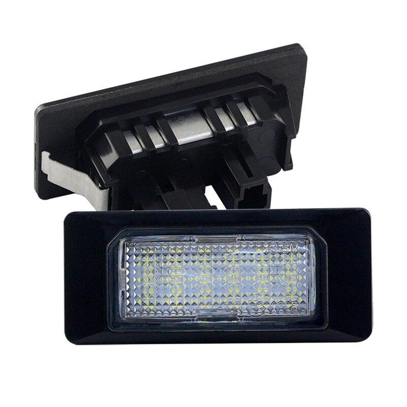 Плафони LED 3027-5 за регистрационен номер  VW GOLF 6 Polo 4 за Audi A1 A6 A7 TT