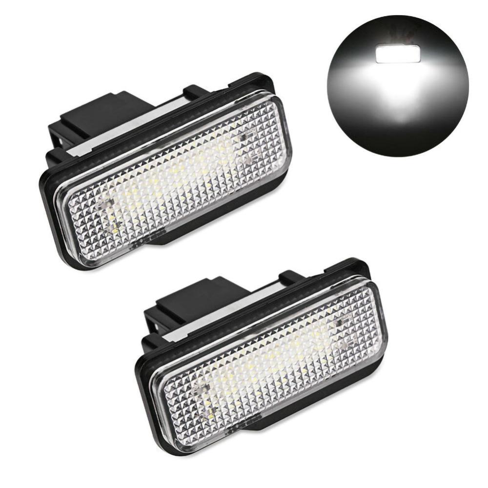 Плафони LED 3027-7 за регистрационен номер Mercedes C-class,E-class,CLS-class,SLK-class