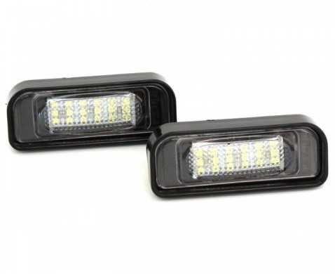 Плафони LED 3027-9 за регистрационен номер Mercedes Benz C-Class W203