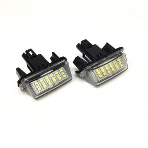 Плафони LED 3027-11 за регистрационен номер Toyota,Citroen,Peugeot