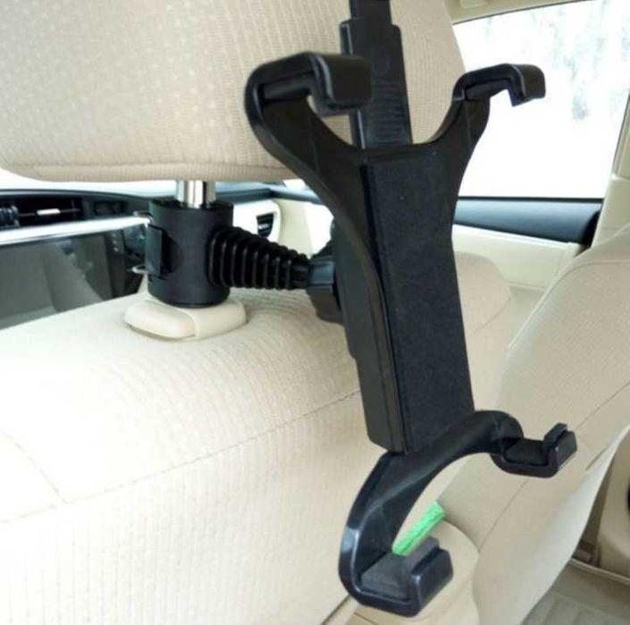 Стойка за таблет/телефон за седалка на автомобил, 360°