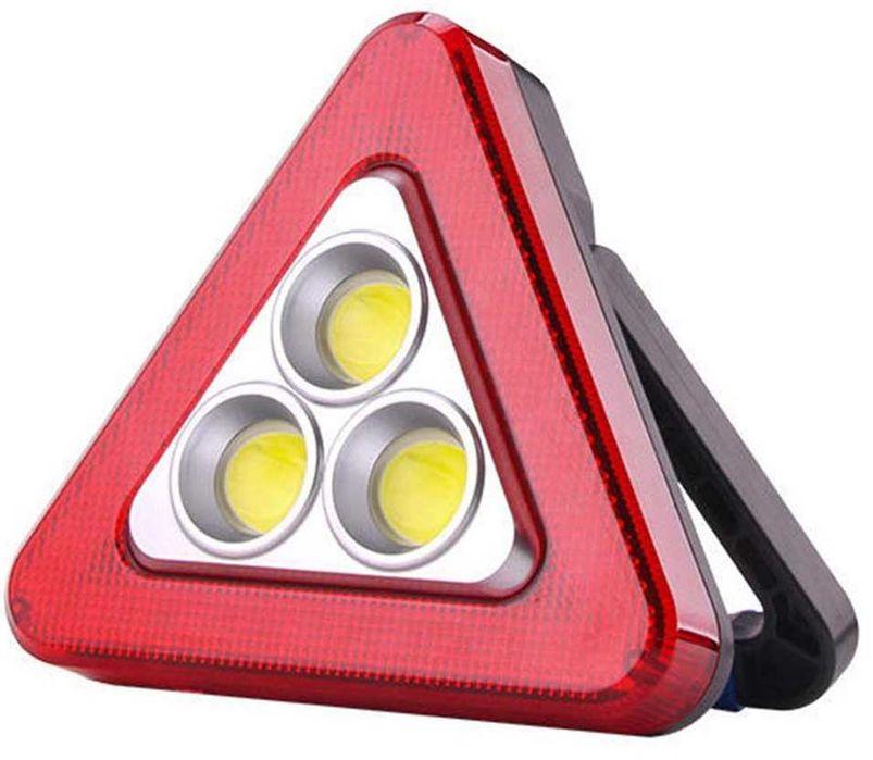 Авариен Триъгълник – Лампа ЛЕД 3 в 1